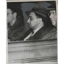 1950 Press Photo Harry Gold, Accused Russian Spy, after Philadelphia Arrest
