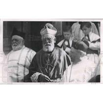 1921 Press Photo Archbishop Sebastian Messmer's golden jubilee, Milwaukee