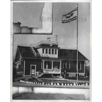 1930 Press Photo Mitchell Field's First Administration Building, Milwaukee