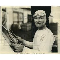 1931 Press Photo Phil Pardee in Miller Special at Indianapolis Speedways