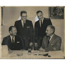 1962 Press Photo Rep. James L. Bomar at Civil Aeronautics Board hearing- Hillton