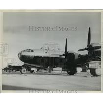 Press Photo Stored aircraft at Kelly Filed, San Antonio Texas - sba05521