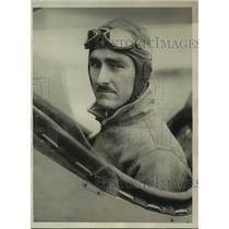 1929 Press Photo Pilot William Welborn Enters National Ford Reliability Air Tour