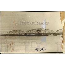 1929 Press Photo New Orleans - Chef Menteur Bridge in Louisiana