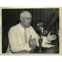 1935 Press Photo Senator Japes P Pope of Idaho proponent of  League of Nations