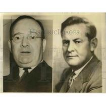 1940 Press Photo Ct Seate candidates Francis T maloney & Paul L Cornell