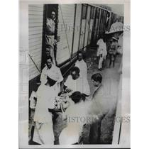 1935 Press Photo Ethiopian Troops Rushed Enroute to Ogaden Where Hostilities