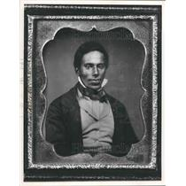 1865 Press Photo Daguerrotype of William T. Watson from Milwaukee Art Museum.