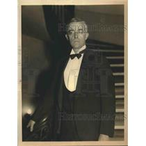 1932 Press Photo Dr. Irving Langmuir, Nobel Prize for Chemistry awardee