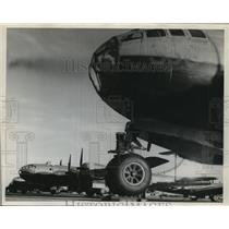 Press Photo Stored aircraft at Kelly Field, San Antonio, Texas - sba10370