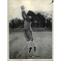 1935 Press Photo Ziggy Sliter East High School football player - cvb42701