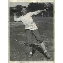 1934 Press Photo Sabath with East High football - cvb42712