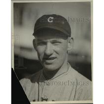 1925 Press Photo Russell Wright, Cleveland Indians baseball - cvb59218