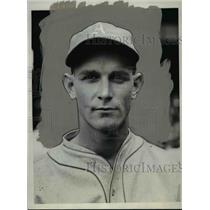 1931 Press Photo Dib Williams, Infielder for Philadelphia Athletics - cvb59508
