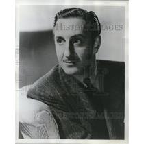 1950 Press Photo Basil Rathbone in Queen Christina - cvp79013