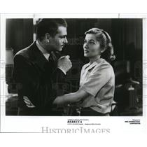 1940 Press Photo Laurence Olivier and Joan Fontaine in Rebecca. - cvp81642