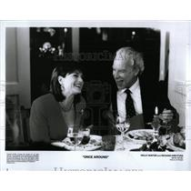 Press Photo Once Around Holly Hunte Richard Dreyfuss - RRY65867