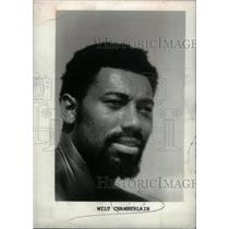 1982 Press Photo Philadelphia 76ers Wilt Chamberlain - RRX38529