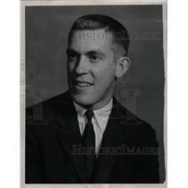 1958 Press Photo Elliott Trumbull/Detroit Redwings - RRW20161