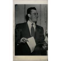 1950 Press Photo Del Ennis Baseball Phillies - RRW73711