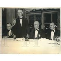1933 Press Photo Banquet of the Intl. Circulation Managers Assoc in Chicago