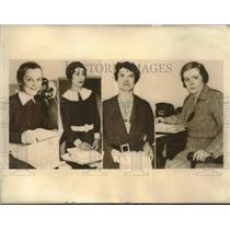 1931 Press Photo Four women who hold important city government posts - sba09798