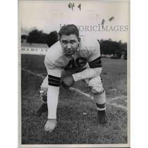 1947 Press Photo Ernie Blandino Tackle - cvb65372