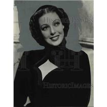 1940 Press Photo Actress Loretta Young - cvb27412