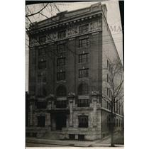 1910 Press Photo New Masonic Temple from J.W. Hull, Youngstown, Ohio.