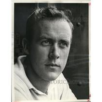 1960 Press Photo Stuntman Max Klevan - mja37163