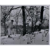 1948 Photo Pontiac Ski Club At Highland Rec Area - RRU89587