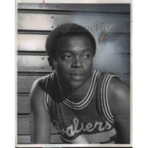 1972 Press Photo Bobby Washington the Cleveland Cavaliers - cvb46546