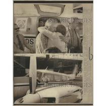 1971 Press Photo Pilot Elgen Long Woodside California- RSA48521