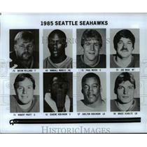 1985 Press Photo Seattle Seahawks - cvb51984