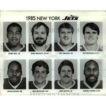 1985 Press Photo New York Jets - cvb51986