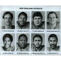 Press Photo New England Patriots - cvb51989