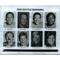 1985 Press Photo 1985 Seattle Seahawks - cvb51991