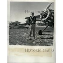 1973 Press Photo John Duff Rockledge Cessna Airplane - RRY57179