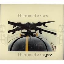 1985 Press Photo Traffic Copter Pilot Pat Monks- RSA01789