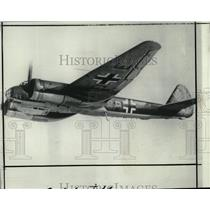 1940 Press Photo German Bomber Plane JU-88 - RRX79471