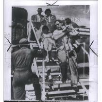 1950 Press Photo American leave plane Itazuji air Base- RSA20061