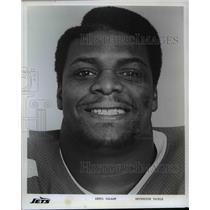 Press Photo: Jets Football Player - Abdul Salaam - Defensive Tackle