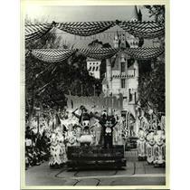 1980 Press Photo Disneyland's 25th Birthday Parade salute - cvb16178