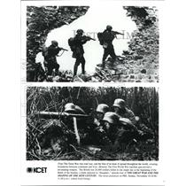 "Press Photo ""The Great War and The Shaping of The 20th Century."" - cvb20718"