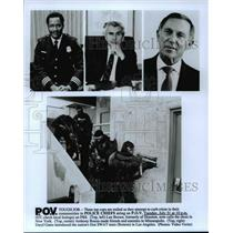 "Press Photo 3 Cops attempt to curb crime in ""POLICE CHIEFS"" airing on P.O.V"