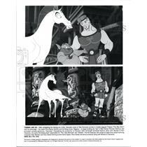 Press Photo The Voices of Tate Donovan & Danny DeVito in Hercules - cvb26853