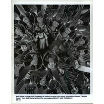 1983 Press Photo Beauty and the Beast. - cvb31130