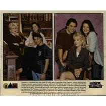1997 Press Photo Social Studies Julia Duffy Bonnie MacFarlane Adam Ferrera