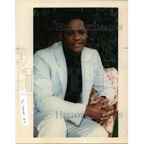 1990 Press Photo Blair Underwood stars in NBC TV's LA Law - cvp91606