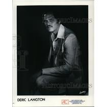 1984 Press Photo Deric Langton, musician and entertainer - cvp96948